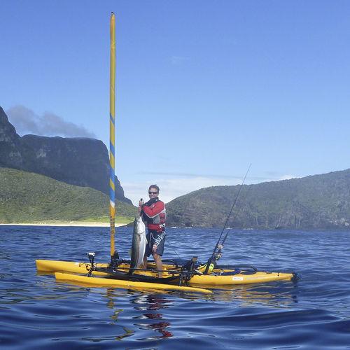 Kayak sit-on-top / rigido / da pesca / da mare Mirage Adventure Island Hobie Cat USA