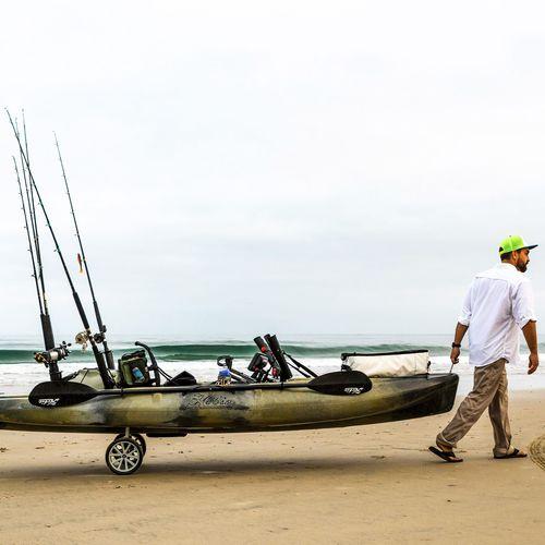carrello da trasporto / per canoa e kayak