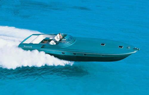 motor-yacht rapido / soft-top / con scafo planante / con 2 cabine