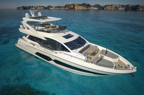Motor-yacht da crociera / con fly / dislocante / con 4 cabine 76 Sunseeker