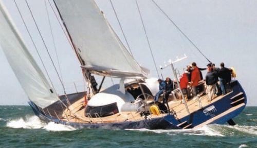 Sailing-yacht da crociera / con deck saloon 86 - MELITI Garcia Yachting