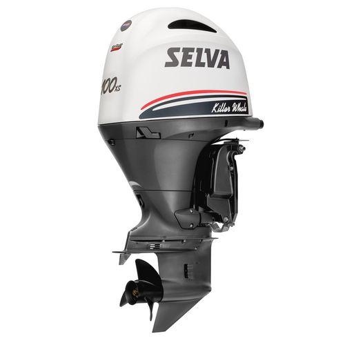 motore per barca professionale / fuoribordo / benzina / a 4 tempi