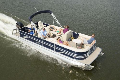 pontoon boat fuoribordo / da pesca sportiva / max. 12 persone
