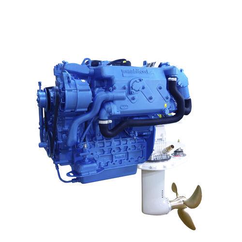 motore da diporto / per barca professionale / saildrive / diesel