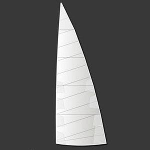 randa / per barca a vela da competizione / cross-cut / in poliestere