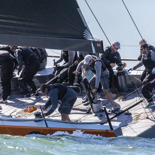 boma per barca a vela / per sailing yacht / avvolgitore / in carbonio