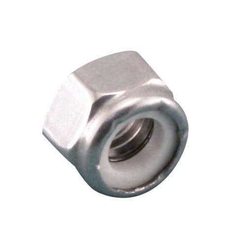 dado esagonale / in acciaio inox / in nylon