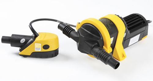 pompa per barca / di sentina / a membrana / elettrica