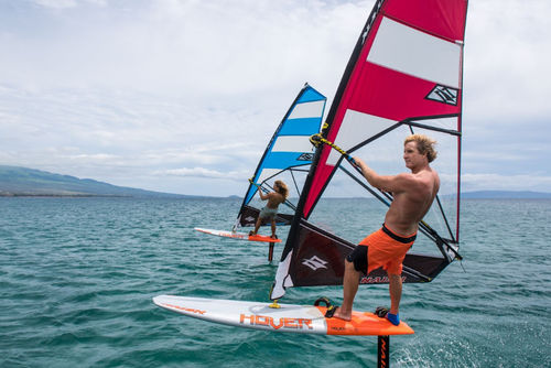 vela da windsurf allround / 3 listelli