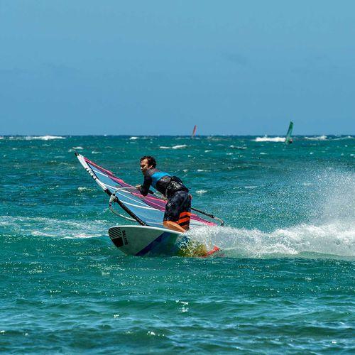 tavola da windsurf wave / da freeware / tri fin