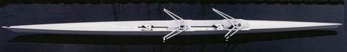 barca da canottaggio da competizione / doppio di coppia