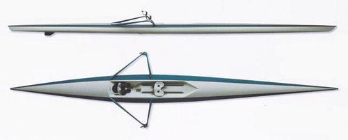 barca da canottaggio da regata / skiff