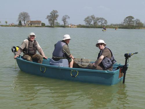lancia fuoribordo / da pesca sportiva