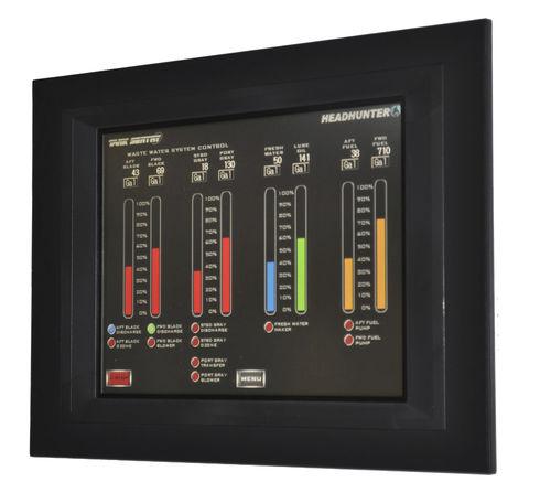 sistema di controllo e comando per nave / per misurazione di livello vasche