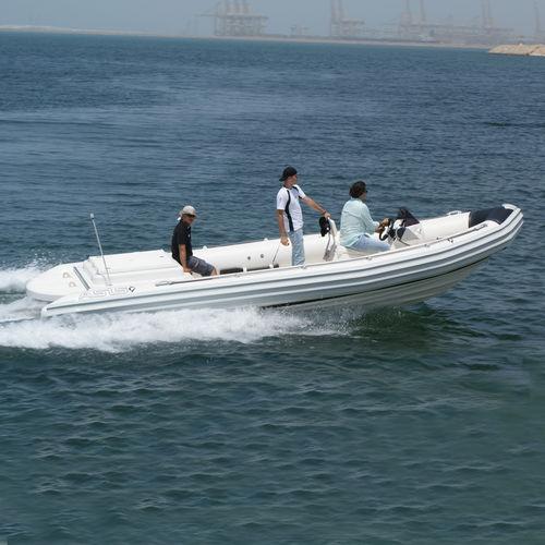Barca da lavoro polivalente entrobordo / gommone semirigido Oil & Gas RIB Boat 7.2 ASIS BOATS