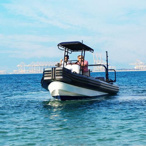 Barca da lavoro fuoribordo / gommone Marina Operations RHIB 8.0 ASIS BOATS