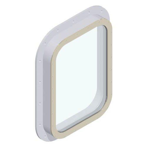 finestra per nave / fissa / quadrata