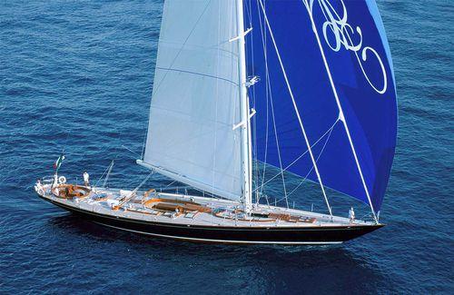 sailing-superyacht di lusso da crociera / tradizionale / con poppa aperta / sloop