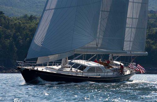 sailing-yacht da crociera / tradizionale / con poppa aperta / ketch