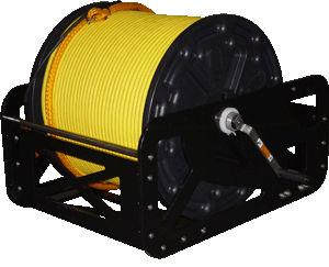 argano per nave / per cavo ombelicale di ROV / con motore elettrico