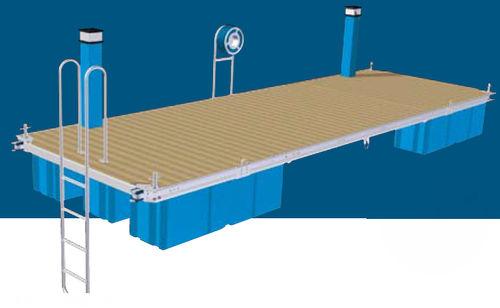 Pontile galleggiante / di ormeggio / per marina / in acciaio inossidabile Orsta Marina Systems