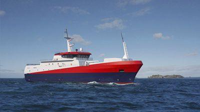 Nave da pesca professionale palamito 63m / 700 m³ Piriou