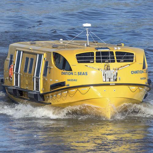 scialuppa di salvataggio chiusa per navi parzialmente chiusa / per nave