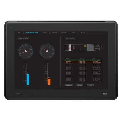 pannello operatore marino / con monitor a touch screen PCT