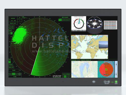 Schermo per nave / multifunzione / sistema di navigazione / PC HD 32T22 MVD  Hatteland Display AS