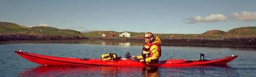 kayak a ponte / rigido / per spedizione / da mare