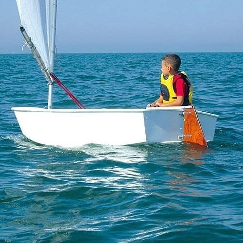Deriva per bambini / singola / per scuola / cat boat BABY BOAT CNA Cantiere Nautico