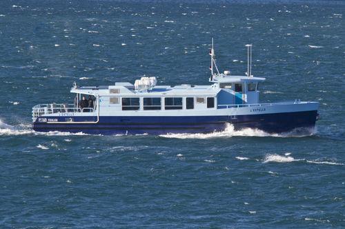 Barca turistica elettrica / in alluminio Toulon Alt.en