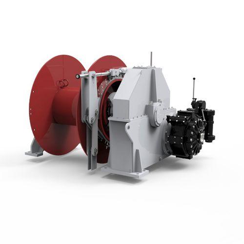 argano per rimorchiatore / per rimorchio / con motore idraulico / con motore elettrico