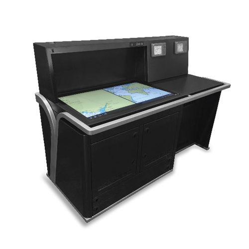 tavolo da carteggio per nave / fisso / digitale