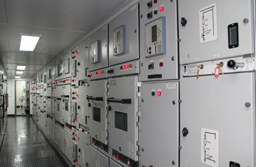 armadio elettrico per nave