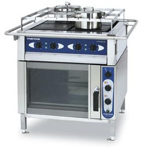 fornelli con forno integrato per barca / elettrico / 3 fuochi