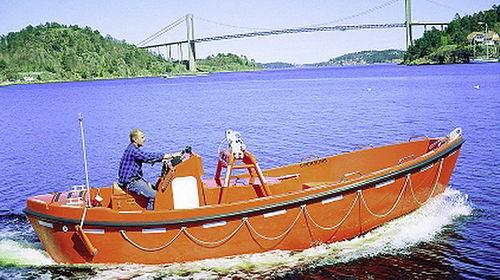 battello di emergenza per nave / entrobordo