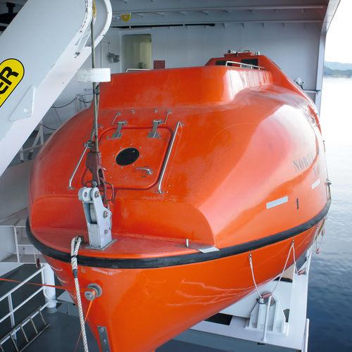 Scialuppa di salvataggio chiusa per navi chiusa / per nave LBT series Palfinger Marine GmbH