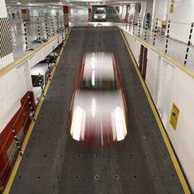 ponte auto Ro-Ro / con sistema di sollevamento integrato