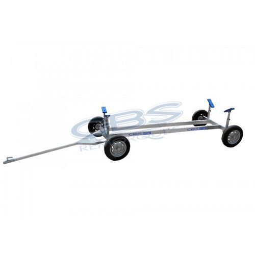 carrello di varo / per barca a motore / trainabile