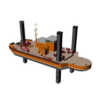 Nave speciale chiatta da lavoro DIPPER (PONTOON) 3600 Arya Shipyard