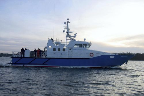 nave speciale guardia pesca
