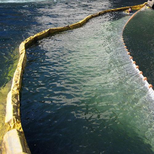 barriera antinquinamento / galleggiante / per acque calme / per fiume