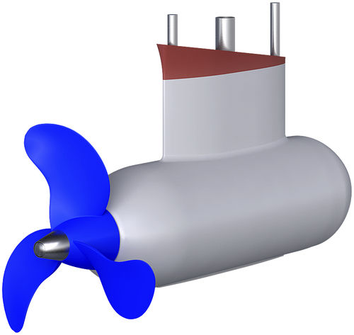 motore da diporto / professionale / di propulsione / POD