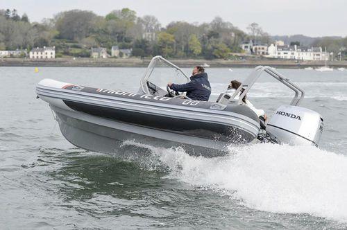 Patrol boat fuoribordo / gommone semirigido 660 Highfield Inflatables
