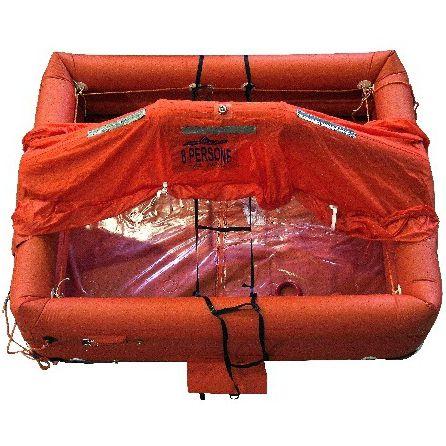zattera di salvataggio per nave / ISO 9650-1 / ISO 9650-2 / gonfiabile