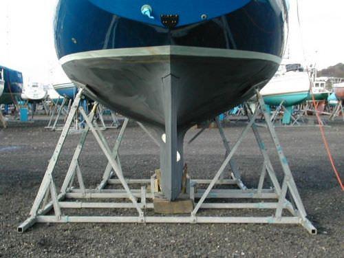 tacco per barca a vela / fisso / in acciaio galvanizzato