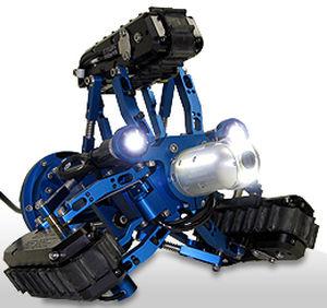 ROV subacqueo per ispezione di conduttura VT100 Vertical Crawler™ Inuktun Europe