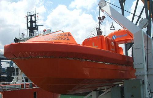 battello di emergenza per nave