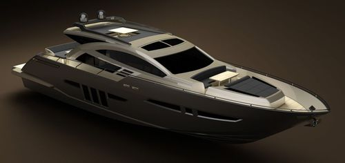 motor-yacht da crociera / hard-top / dislocante